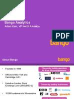 Bango Analytics Screen Shots)