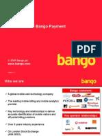 Bango Payment Presentation