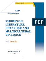 Iulian Boldea (Editor), STUDIES ON LITERATURE, DISCOURSE AND MULTICULTURAL DIALOGUE, Section History, Arhipelag XXI Publishing House, Tirgu Mures, 2014