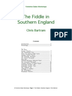 Southern English Fiddle Styles