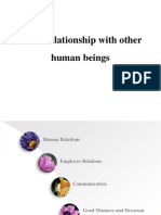 Human Relations Ppt