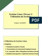 Utilisation Linux
