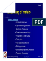 07_Machining of Metals