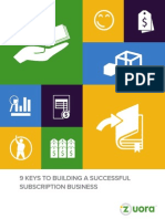 9 Keys to Subscription Success Whitepaper