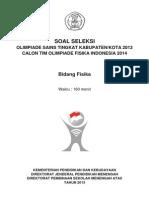 Soal Pembahasan OSN Kabupaten Fisika 2013.pdf