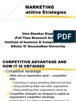 MARKETING Competetive Strategty
