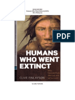 Book Review - Humans Who Went Extinct