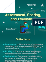 Assess Score Evaluate
