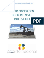 Operaciones Con Slickline Nivel Intermedio