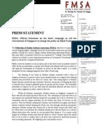 FMSA Position on Tudung Issue