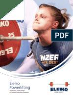 Eleiko Powerlifting English 2012