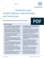 Preventing Loneliness