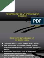 CONTEXTO HISTÓRICO DE LA EPIDEMIOLOGÍA UAP  2014