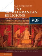 The Cambridge Companion to Ancient Mediterranean Religions