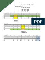Metode Solver Dan Metode Simplex 3 Variabel