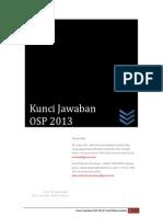 Soal OSP Astronomi 2013