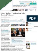 Www Perfil Com Politica Nestor Kirchner y La Alianza Con Heb