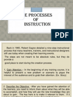 l  the processes of instruction-l