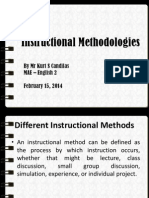 m  instructional methodologies
