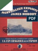 Lucieto Charles 08/12 - La Fin Tragique d'Un Espion