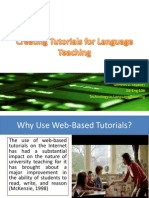 n  creating tutorials lessons for language teaching