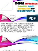 q  media application theories roles capabilities and