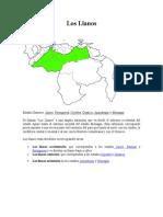 Region Llanos