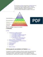 La Pirámide de Maslow es una teoría psicológica propuesta por Abraham Maslow en su obra