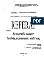 restaurari dentare