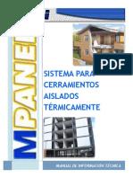 Mpanel® Manual de Información Técnica
