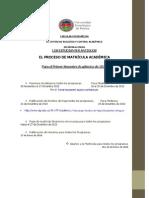 Circular Informativa i Sem Lectivo 2014