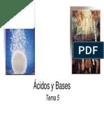 Ácidos- Bases