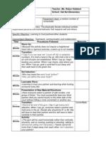 lesson plan 1 mind field