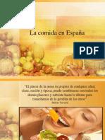 Comidas españolas y de algunos países hispanoamericanos