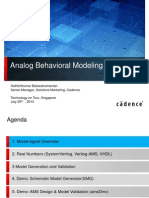 4 Singapore Analog Behavioral Modeling