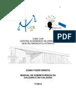 Manual Calouro