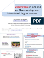 Use of Polleverywhere in C21 and BSc Medical Pharmacology and Intercalated degree courses