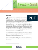 Potencial de aplicação da Cota de Reserva  Ambiental em Mato Grosso