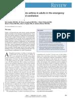 Asma y ventilación mecánica