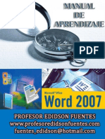 Guia Practica de Microsfot Word 2007 Completa 2014