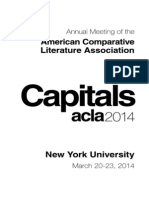 ACLA 2014 Program Draft