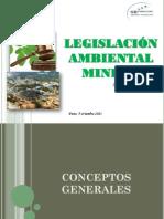 Diapositivas Sesión 21 Legislación Ambiental Minera