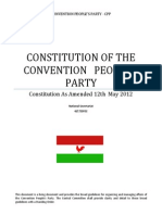 CPP Constitution 2011 Final AMENDED