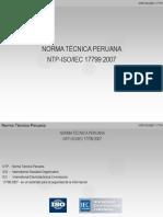 3 - Norma Técnica de Seguridad