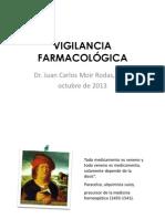 VIGILANCIA FARMACOLOGICA 2013