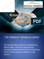Renault Nissan Strategic Alliance
