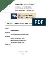 Project Charter - Sistema de Cobranza
