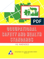Occupationoccupational_safety_and_health_standardsal Safety and Health Standards