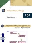 Entry Modes Analysis
