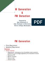 Fm Generation Detection